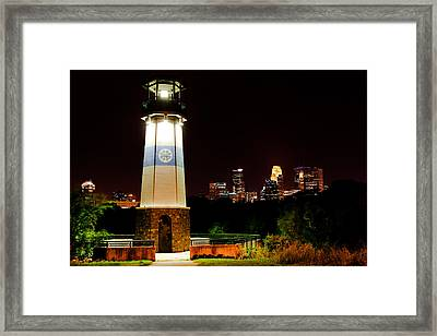 Boom Island Lighthouse Framed Print