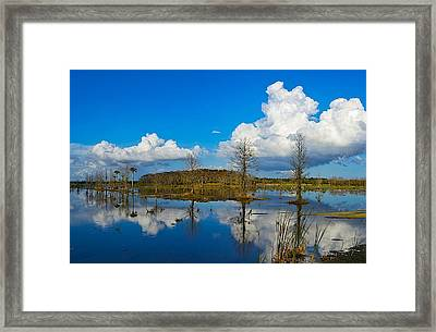 Boomers Coming Framed Print