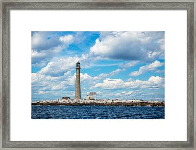 Boon Island Light Station Framed Print
