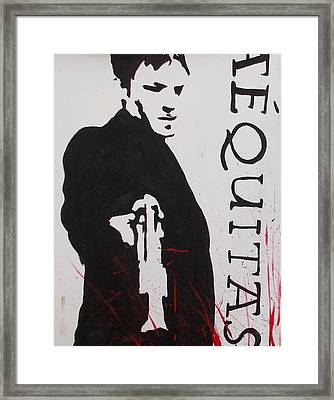 Boondock Saints Panel One Framed Print