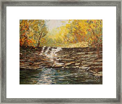 Boone County In Fall Framed Print by Terri Maddin-Miller