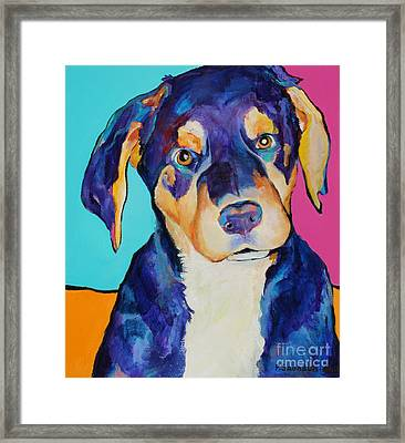 Boone Framed Print by Pat Saunders-White