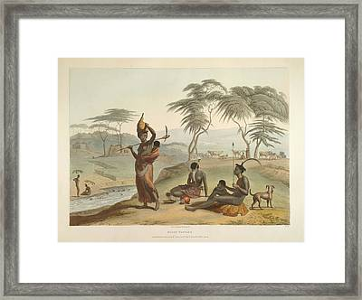 Boosh Wannah's Framed Print by British Library