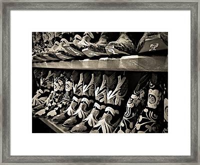 Boot Camp Framed Print