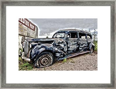 Boot Hill Framed Print