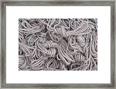 Boot Laces Framed Print