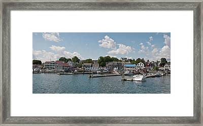Boothbay Harbor 1242 Framed Print