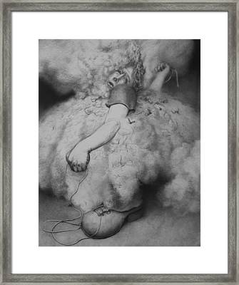 Bootlaces Framed Print by Louis Gleason