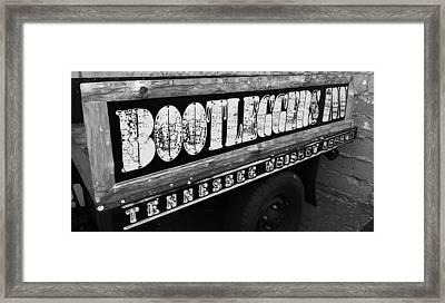 Bootleggers Inn Nashville Tennessee Framed Print