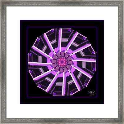 Boots In A Spin Framed Print