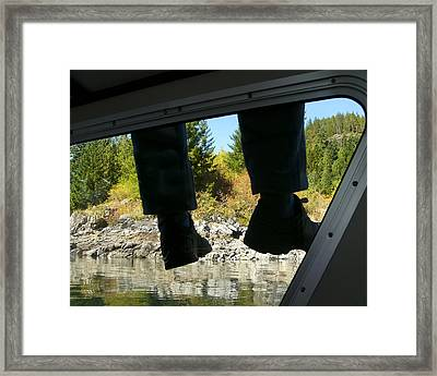 Framed Print featuring the photograph Boots by Rhonda McDougall