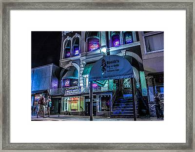 Framed Print featuring the photograph Boozie's  by Ray Congrove