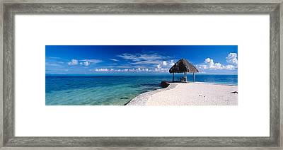 Bora Bora Point Bora Bora Framed Print by Panoramic Images