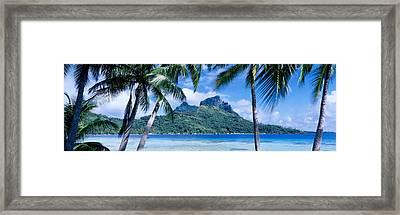 Bora Bora, Tahiti, Polynesia Framed Print