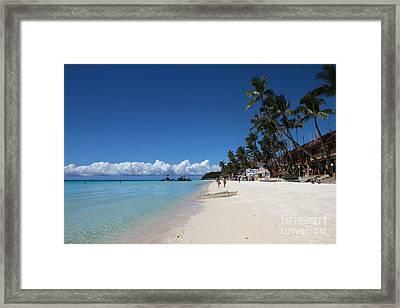 Boracay Beach Framed Print