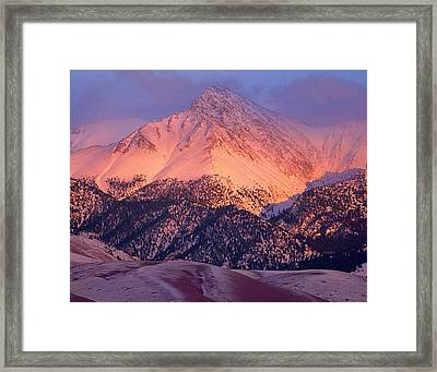 Borah Peak  Framed Print
