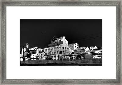 Borax Building  Trona Ca Framed Print