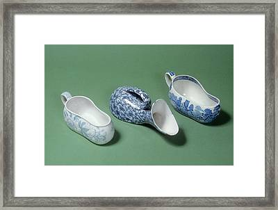 Bordaloues And Male Urinal Framed Print by Science Photo Library