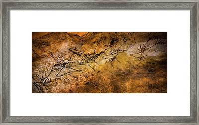 Bordeaux, France. Lascaux Cave Painting Framed Print by Ken Welsh