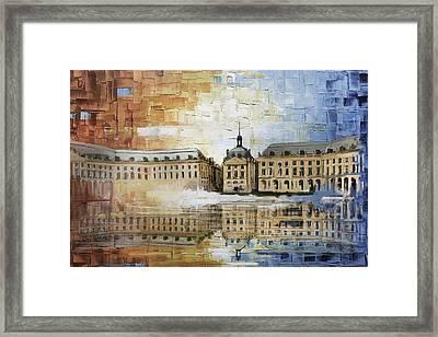 Bordeaux Port Of The Moon Framed Print