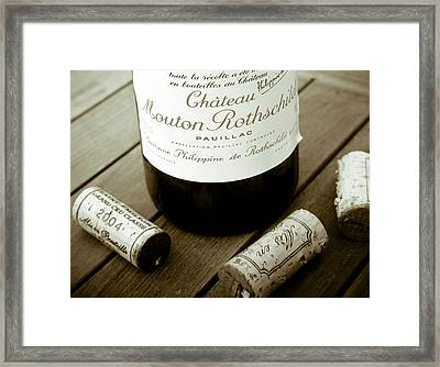 Bordeaux Tasting Framed Print