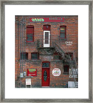 Bordello Framed Print by Leland D Howard