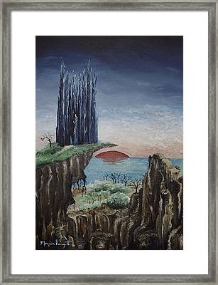 Borderland Framed Print