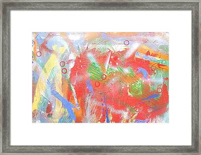 Borderline Framed Print