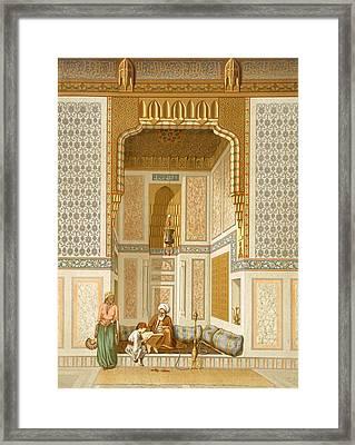 Bordeyny Mosque, Cairo Framed Print by French School