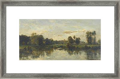 Bords Du Fleuve Framed Print by Celestial Images