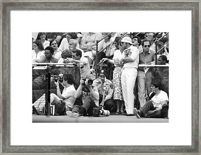 Framed Print featuring the photograph Bored by Steven Macanka