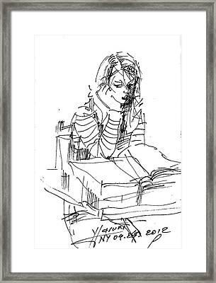 Bored Framed Print by Ylli Haruni