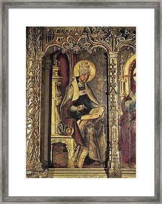 Borgo�a, Juan De 1465-1536 Berruguete Framed Print