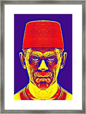 Boris Karloff Alias In The Mummy Framed Print by Art Cinema Gallery