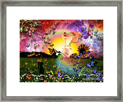 Born Again Framed Print by Dolores Develde