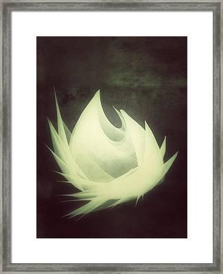 Born Again Framed Print by Guillermo De Llera