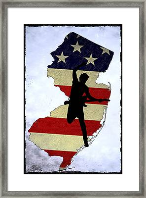 Born In New Jersey Framed Print by Bill Cannon