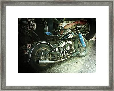 Born In The Usa Framed Print by Christine Till