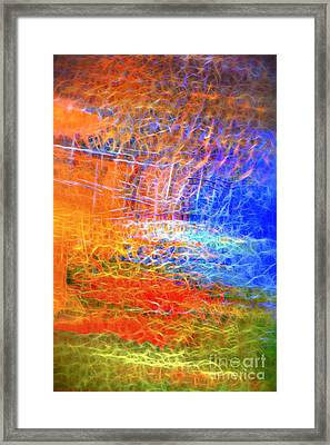 Celebration Of Fire Framed Print