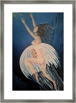 Born Of Water - Naitre De L'eau Framed Print