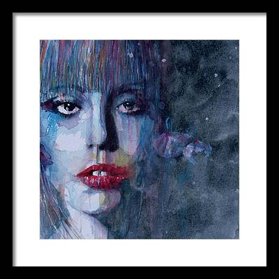Lady Gaga Framed Prints