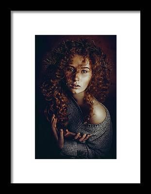 Curls Framed Prints