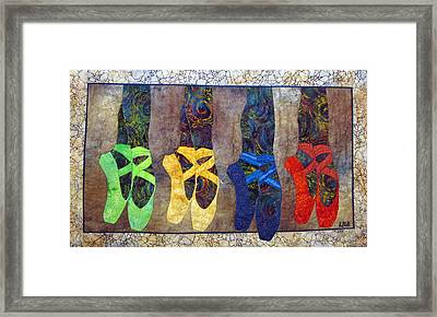 Born To Dance Framed Print by Lynda K Boardman