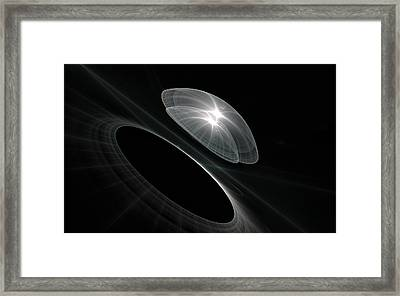 Born To Explore Framed Print