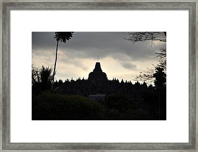 Borobudur Temple Framed Print by Achmad Bachtiar
