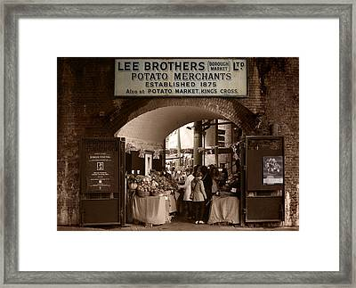 Borough Market Framed Print by Stephen Norris