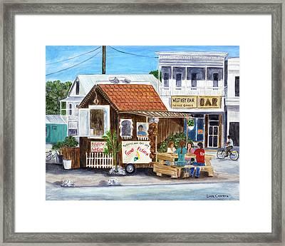 B.o.'s Fish Wagon Framed Print