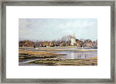 Bosham Harbour Framed Print by Rosemary Colyer
