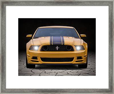 Boss 302 Framed Print by Douglas Pittman