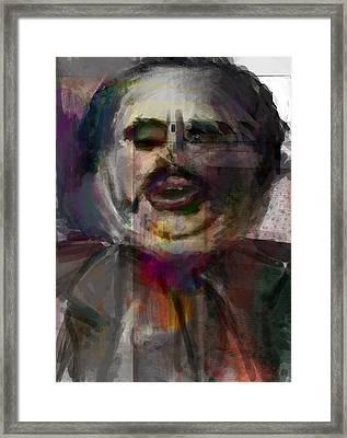 Boss Framed Print by James Thomas